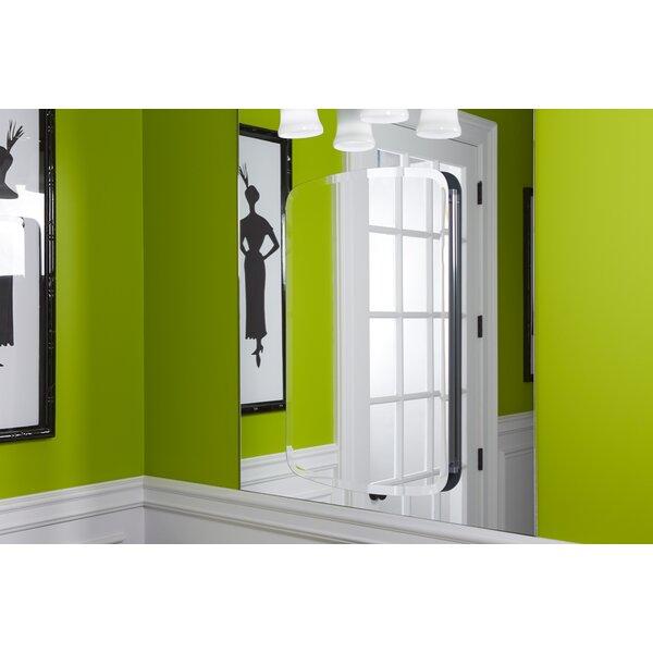 Bancroft 20 W x 31 H Aluminum Single-Door Medicine Cabinet with Mirrored Door by Kohler
