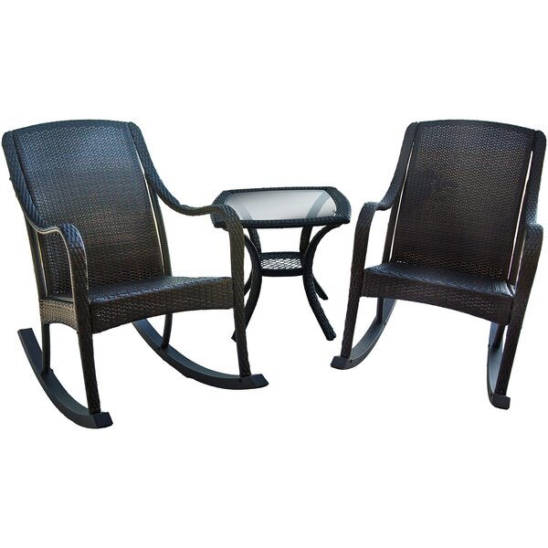 Galarza 3 Piece Conversation Set by August Grove