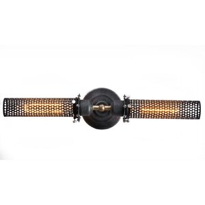 2-Light Mesh Wall Sconce
