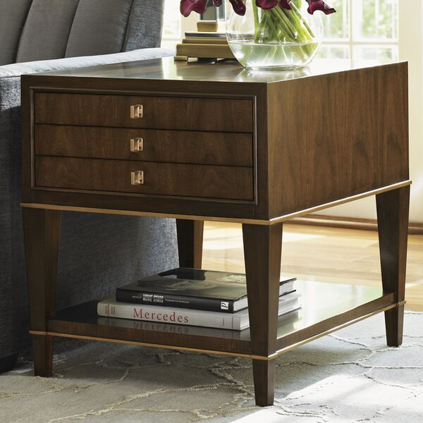 Tower Place Wentworth End Table with Storage by Lexington