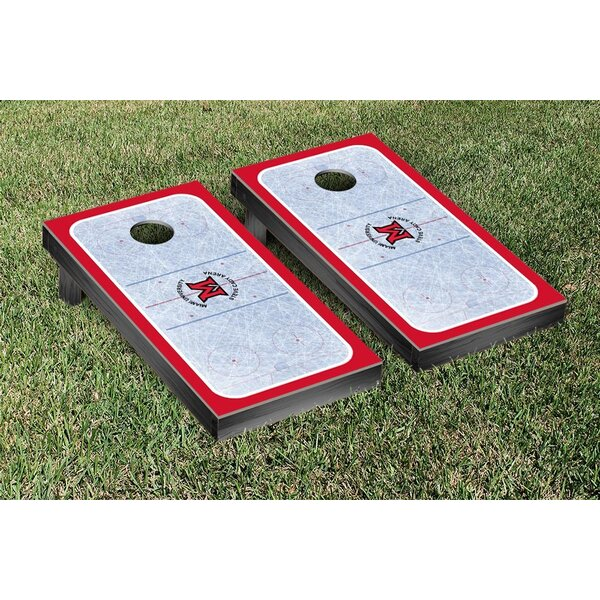 NCAA Miami University RedHawks Hockey Version Cornhole Game Set by Victory Tailgate