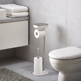 Free Standing Toilet Paper Holders Youll Love