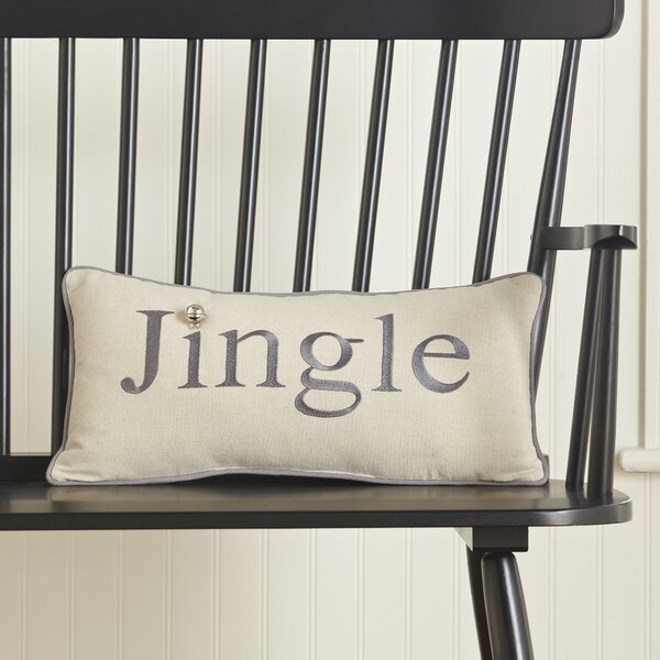 Jingle Lumbar Pillow by Birch Lane™