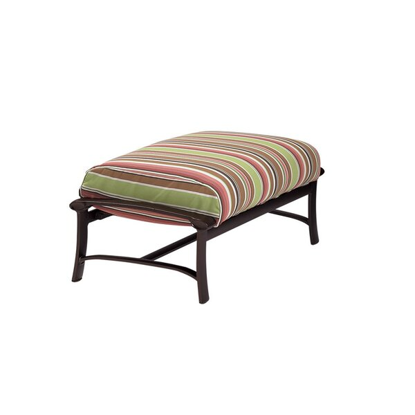 Ovation Ottoman with Cushion by Tropitone