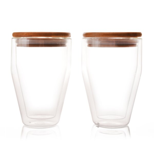 10 oz. Tumbler Drinkware Set (Set of 2) by Eparé