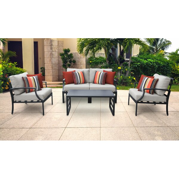 Benner 5 Piece Sofa Seating Group with Cushions by Ivy Bronx Ivy Bronx