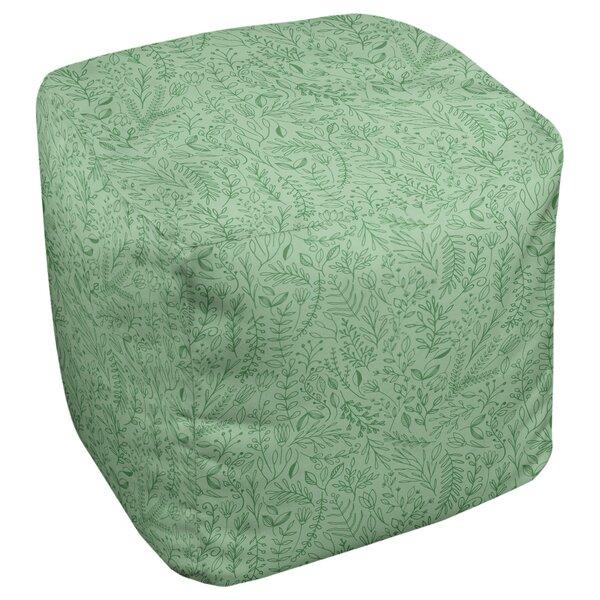 Avicia Ditsy Floral Cube Ottoman By Latitude Run Design