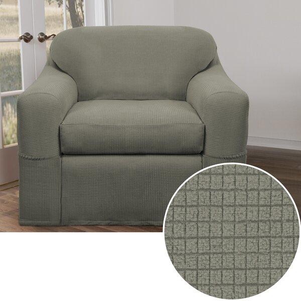 Box Cushion Armchair Slipcover by Charlton Home