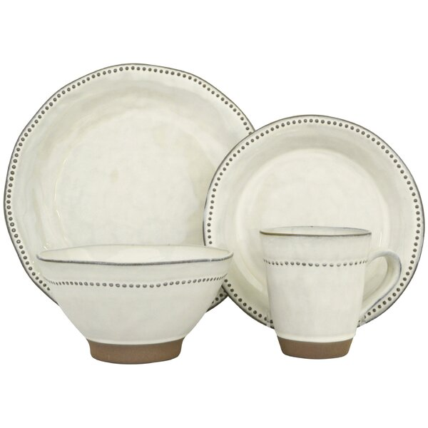 Cyprus 16 Piece Dinnerware Set (Set of 4) by Sango