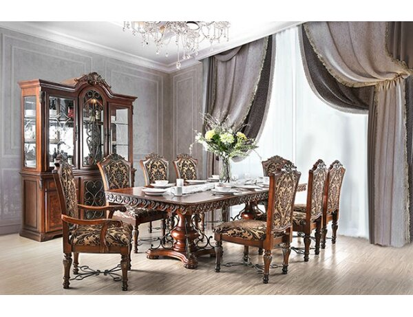 Alexandro 9 Piece Extendable Dining Set by Astoria Grand