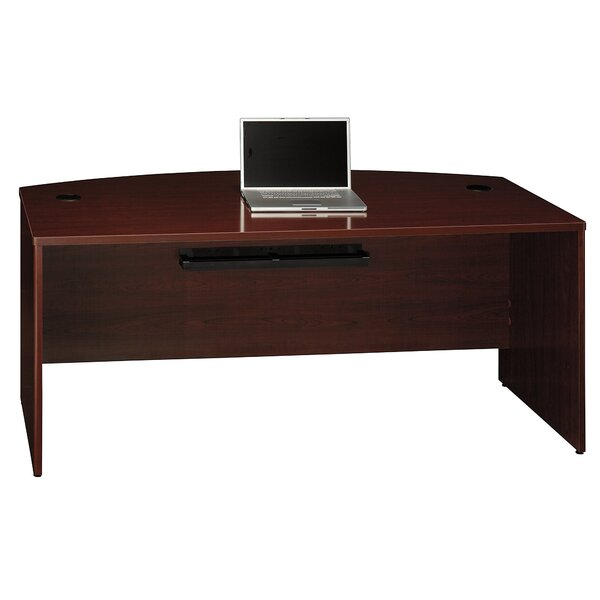 Quantum Bow Front Executive Desk Shell by Bush Business Furniture