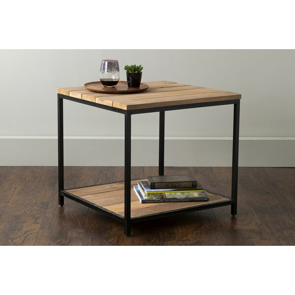 Mcquade End Table with Storage by Williston Forge