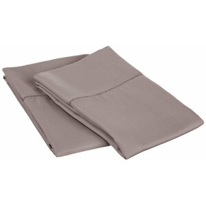 Freeburg Cotton Rich 600 Thread Count Pillowcase (Set of 2)