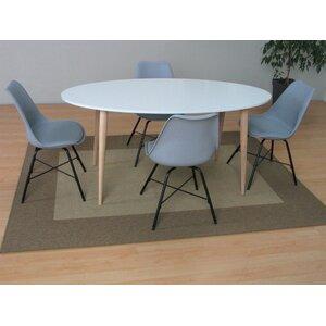 Essgruppe Napoli mit 4 Stühlen von Hazelwood H..