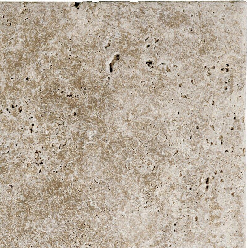 Emser tile natural stone 4 x 4 travertine tile in walnut reviews natural stone 4 x 4 travertine tile in walnut ppazfo