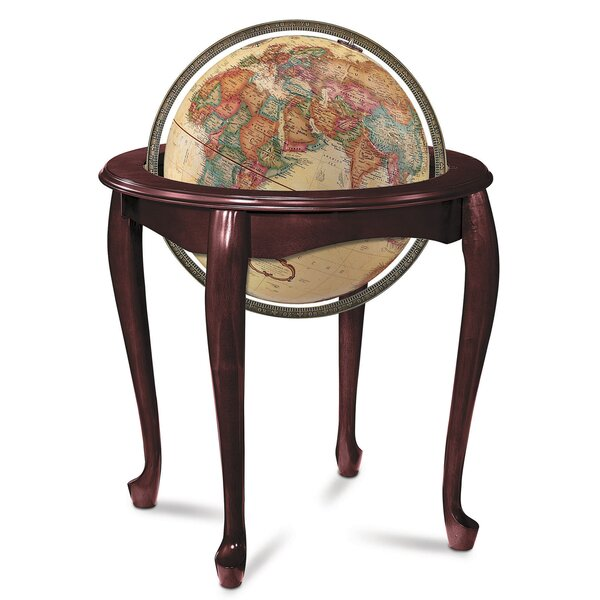 Queen Anne Antique World Globe by Replogle Globes