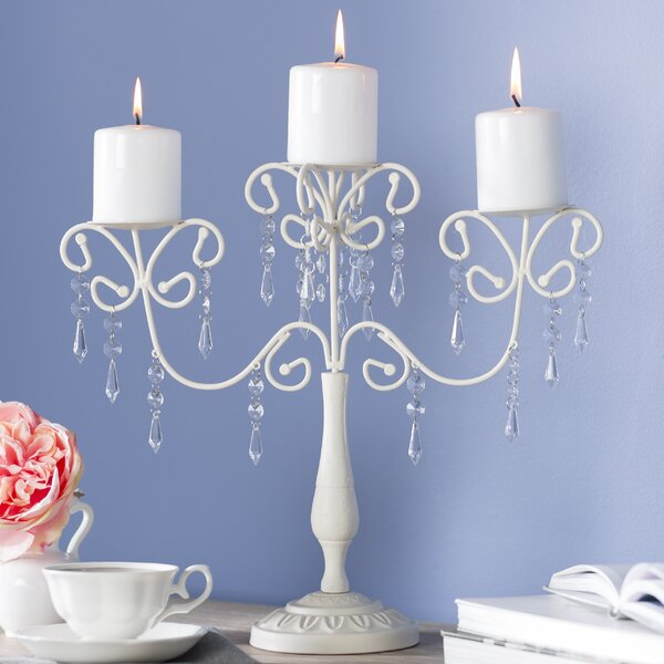 Elegance Metal Candelabra by Lark Manor