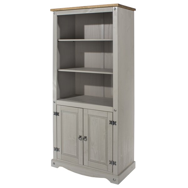 Chatman Wood Library With Doors Standard Bookcase By Gracie Oaks