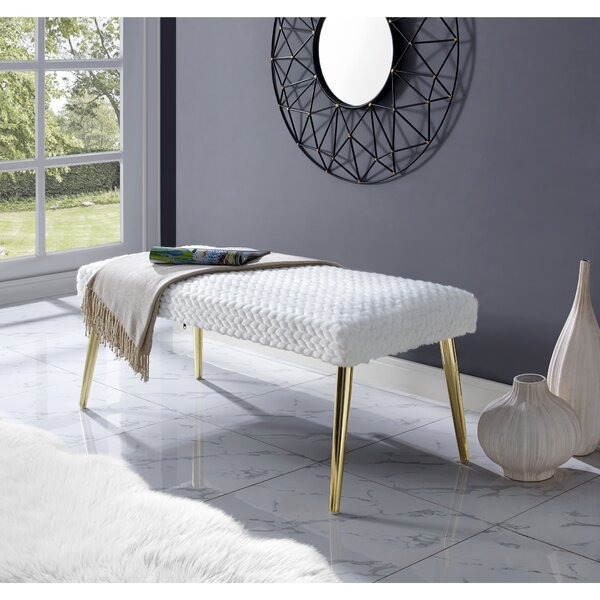 Hippocrates Upholstered Bench by Mercer41