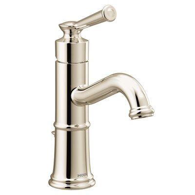 Single Faucet Drain Polished Nickel photo