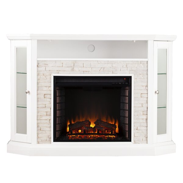 Montpelier 50 TV Stand with Fireplace by Alcott Hill