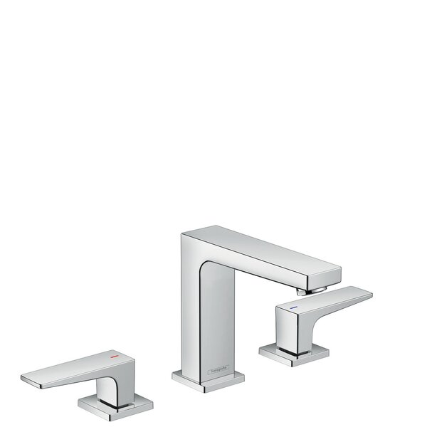 Metropol Low Flow Water Saving Widespread Bathroom Faucet With Drain Assembly By Hansgrohe