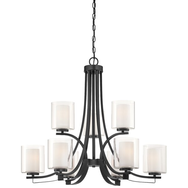 Crespi 9 Light Candle Style Empire Chandelier by Red Barrel Studio Red Barrel Studio