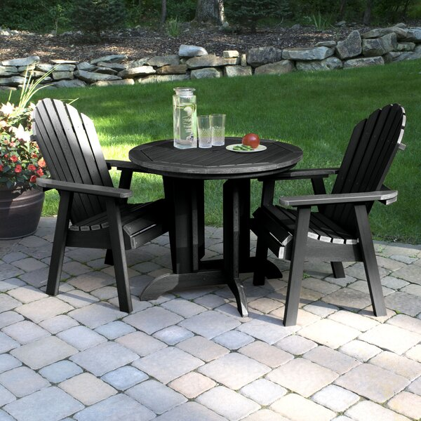 Amiya 3 Piece Dining Set by Breakwater Bay