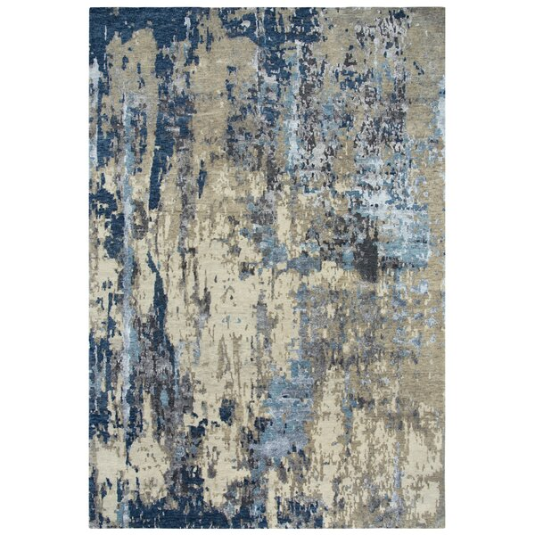 Cabezas Hand Knotted Wool Beige/Gray Rug
