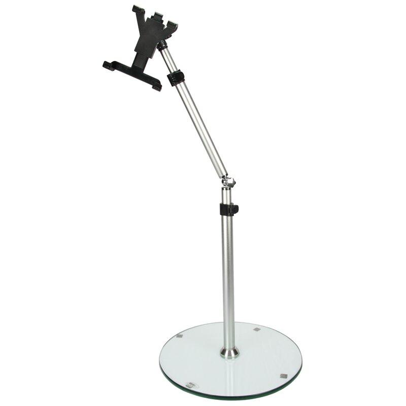 Megamounts adjustable height tablet floor stand reviews wayfair adjustable height tablet floor stand tyukafo