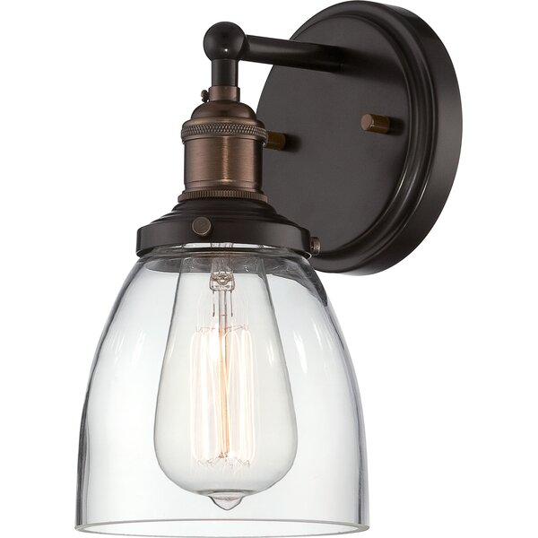 Sandy Springs 1-Light Wall Sconce by Laurel Foundr