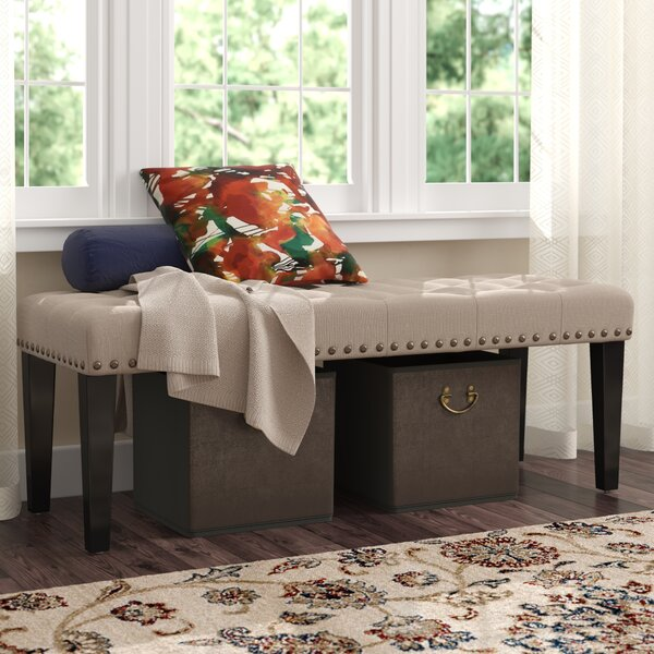 Bellatrix Upholstered Bench by Andover Mills