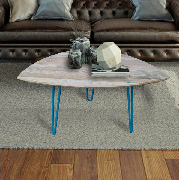 Burg Hand Crafted Reclaimed Wood Coffee Table by Foundry Select