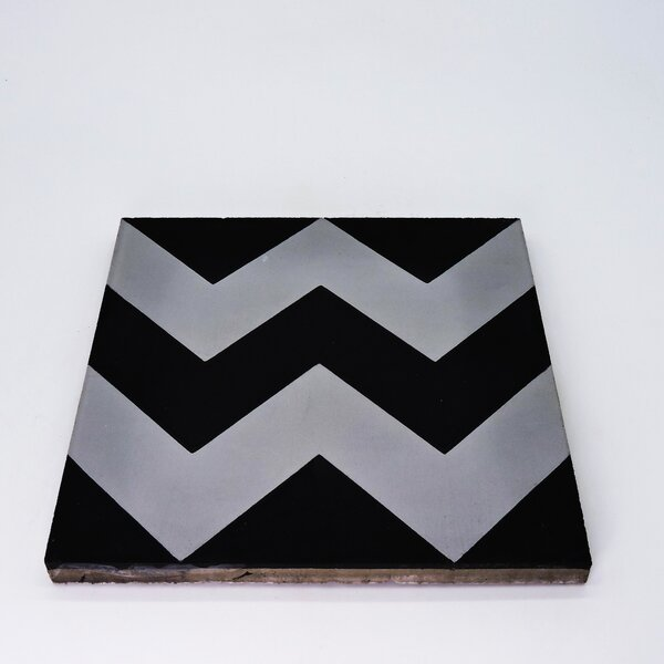 Jerada Handmade 8 x 8 Cement Field Tile