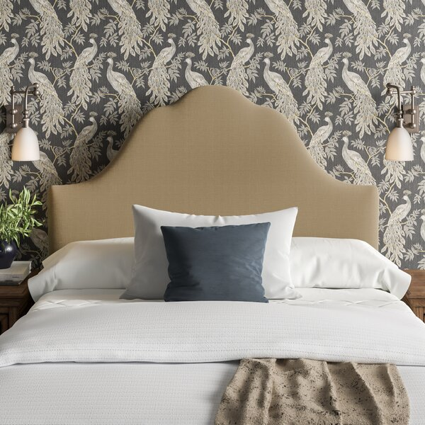 Surface Upholstered Panel Headboard by House of Hampton