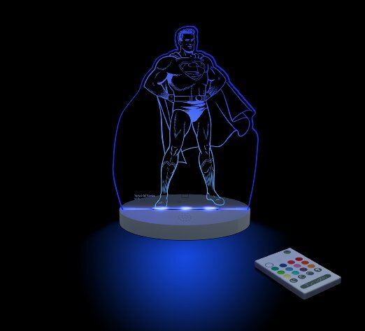 Superman LED Night Light by CompassCo