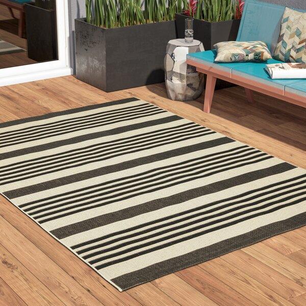 Sophina Black Indoor/Outdoor Area Rug by Zipcode Design