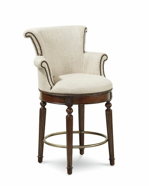 Autberry 26.5 Swivel Bar Stool by Darby Home Co