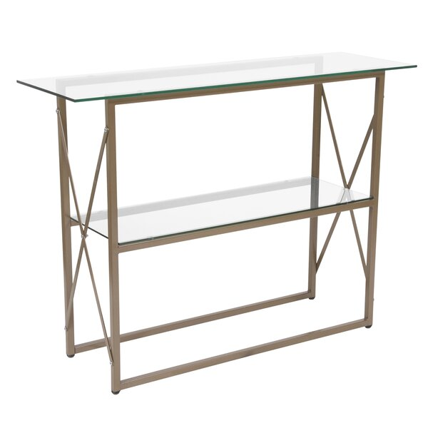 Deals Price Heins Console Table