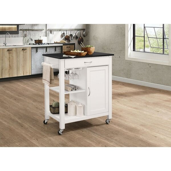 Farrell Kitchen Cart by Charlton Home