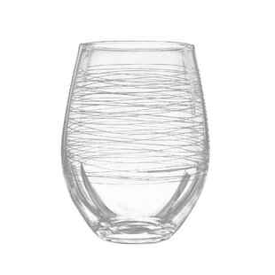 Graffiti 20 oz. Stemless Wine Glass