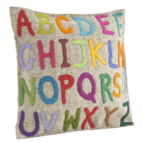 ABCs Wool Pillow Cover by Arcadia Home