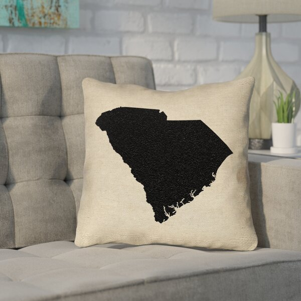 Sherilyn South Carolina Outdoor Throw Pillow