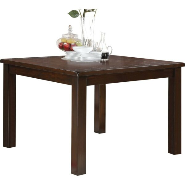 Nakayama Wooden Dining Table by Winston Porter