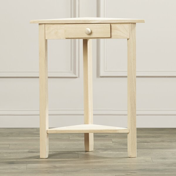 Lynn End Table With Storage By Mistana