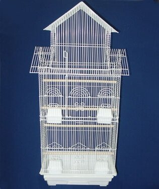 Pagoda Small  Bird Cage by YML