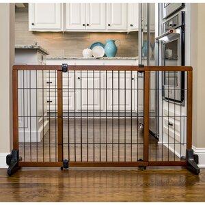 Hayden 28″ Wood Free Standing Pet Gate