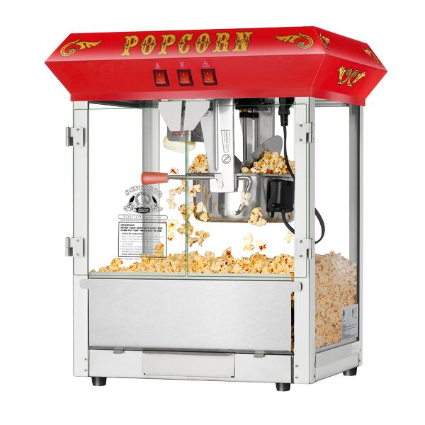 8 Oz. Hot and Fresh Countertop Popcorn Popper Machine by Superior Popcorn Company