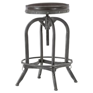 alkaios adjustable height swivel bar stool