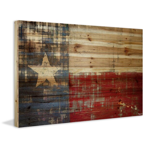 Texas Painting Print on Wood by Marmont Hill